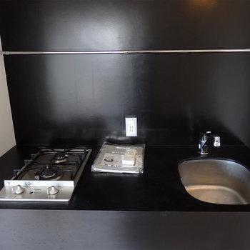 キッチンはミニマム※写真は同間取り別部屋(7階)です