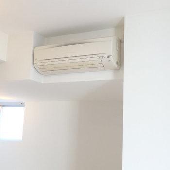 エアコンも完備※写真は同間取り別部屋(7階)です