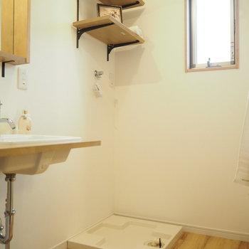 続いて、サニタリー!室内洗濯機ももちろん。