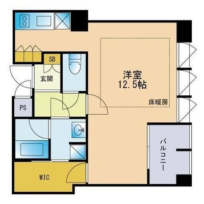 THE APARTMENT HAKATAの間取り