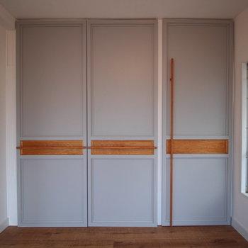 閉じた時の扉もいい感じです。※写真は前回募集時のものです。