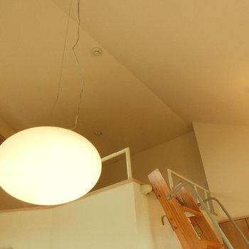 吊るされた球形の照明※写真は前回募集時のものです