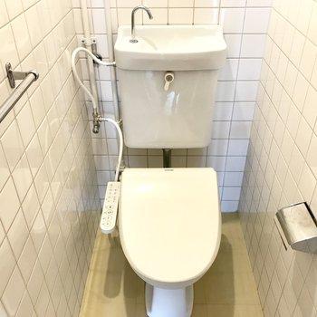 トイレは今回ウォシュレット付きに!嬉しい!