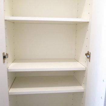靴箱も。※写真は8階の同間取り別部屋のものです