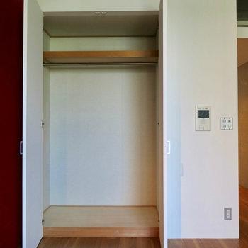 申し分ない収納(※写真は3階の同間取り別部屋のものです)
