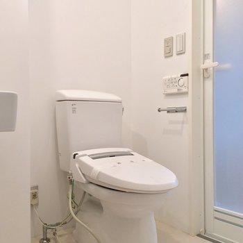 トイレも同じ空間に ※写真は前回募集時のものです