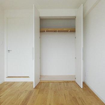 収納は寝室にクローゼット※写真はイメージです