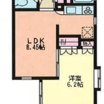 1LDK のお部屋です♪