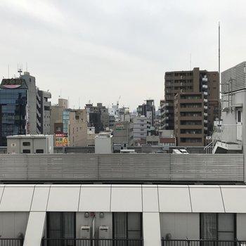 さすが8階この眺め
