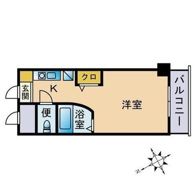 ルエ・メゾンロワール南福岡Ⅱの間取り