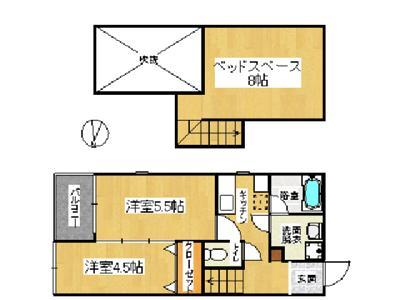 コンフォートベネフィスジオ貝塚駅前 の間取り