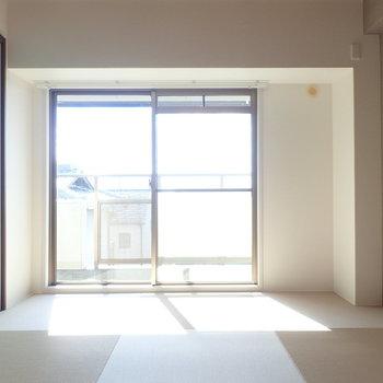 琉球畳のお部屋です。