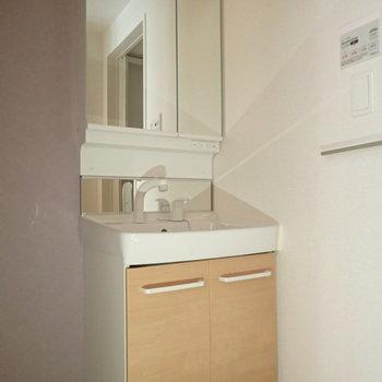 洗面台あります!