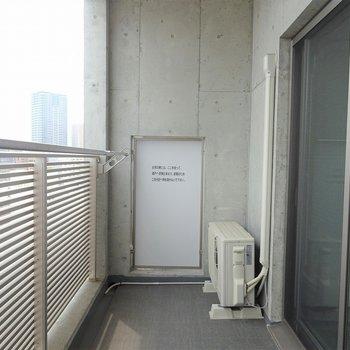 洗濯物は結構干せそう※写真は別室です。