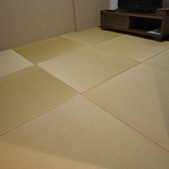 琉球畳で今風に。