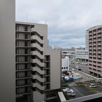 都会の風景〜!