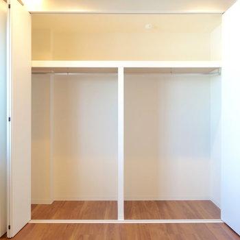 居室の収納、めちゃくちゃでかいです。