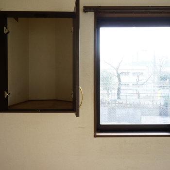 【工事前】3階の5帖洋室、収納。