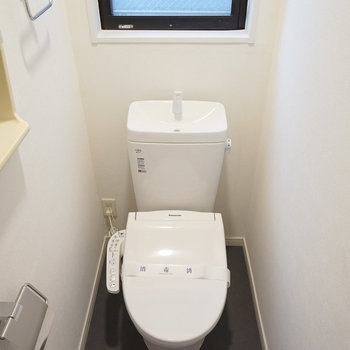 トイレも新品ウォシュレット付き〇