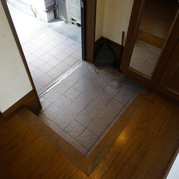 【工事前】玄関