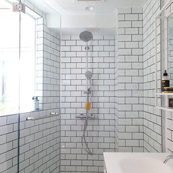 浴槽はなくシャワールームです! ※写真は前回募集時のものです