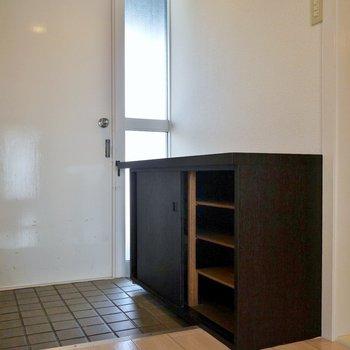 玄関にはシューズBOXも完備※写真は前回募集時のもの。