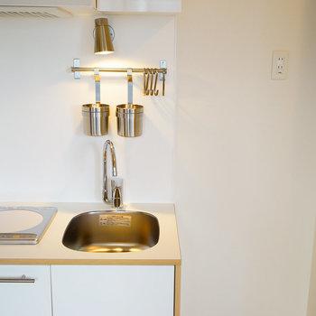 1口IHの可愛いキッチンです※写真はイメージです