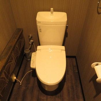 トイレも旅館みたいです♪