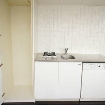 冷蔵庫収納できます※写真は6階同間取りの別部屋です