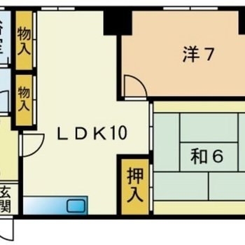 和室も洋室もしっかり広い◎