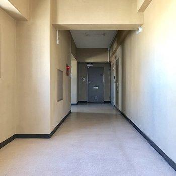 このフロアには2部屋のみ。