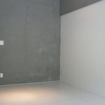 シンプルな空間です。※写真は別部屋。
