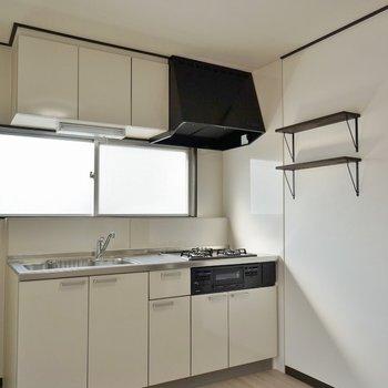 キッチンも大きくていい。