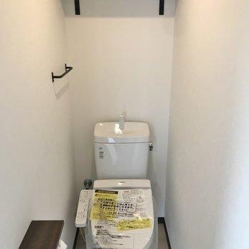 トイレの空間もたまらんかわいさ。