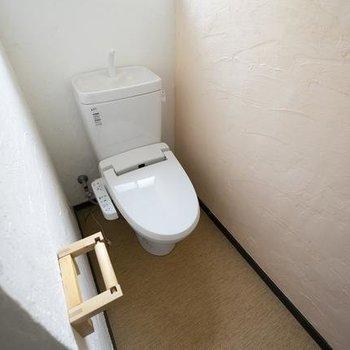 おトイレも綺麗に。