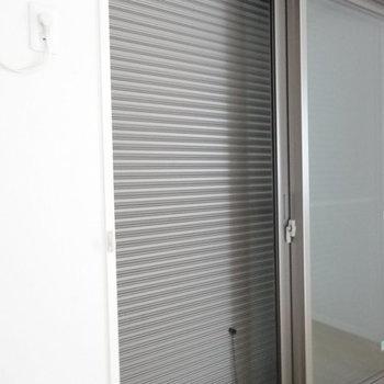 雨戸は上下に動きます※写真は同じ間取り103号室
