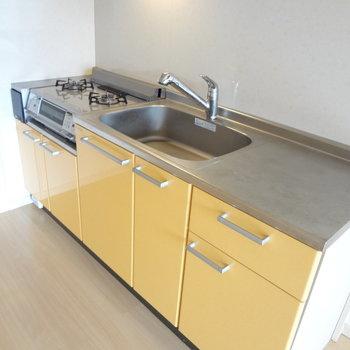 キッチンはこんな感じ!ゆったり広めです!