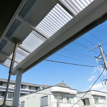 屋根が良いんです!