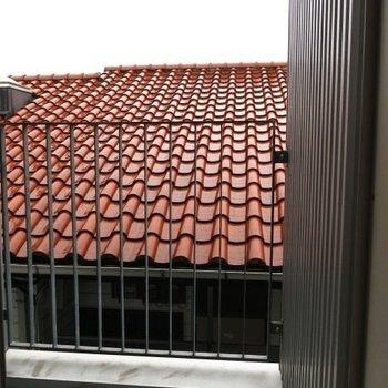 ベランダからの眺め※写真は同間取りの別部屋です。