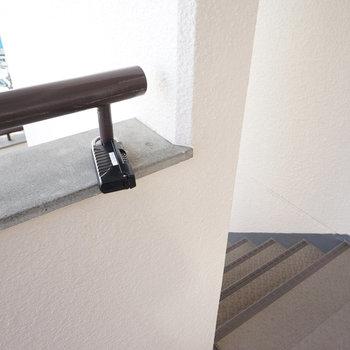 4階まで階段です。※前回募集時の写真です。