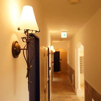 廊下さえも可愛いです♪