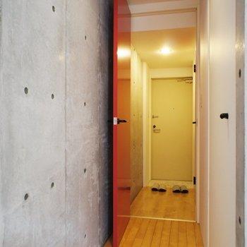 廊下に※写真は別部屋です