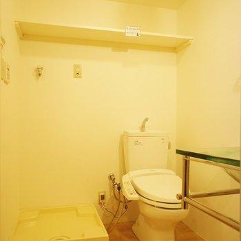 サニタリースペースはこんな感じ※写真は別部屋です