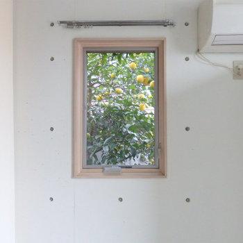 窓の外にはレモンの木*写真は別部屋です
