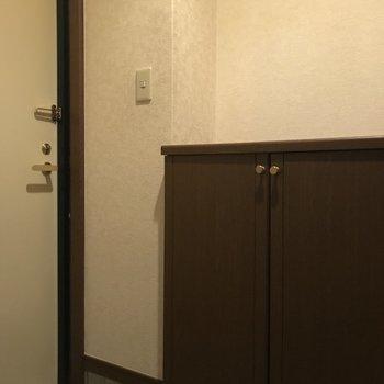 玄関にはシューズボックス完備です。