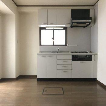 キッチンが新しいのが嬉しい!