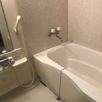浴室もキレイ!