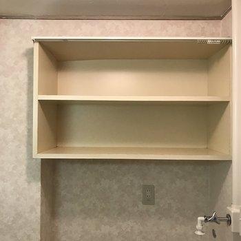 この棚、何かと重宝しそう。