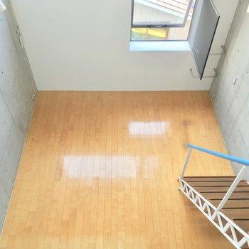 見下ろすとこんな感じ!階段を降りて行ってみましょう