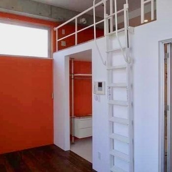 ギュギュッとオレンジ!※写真は同間取り別部屋です